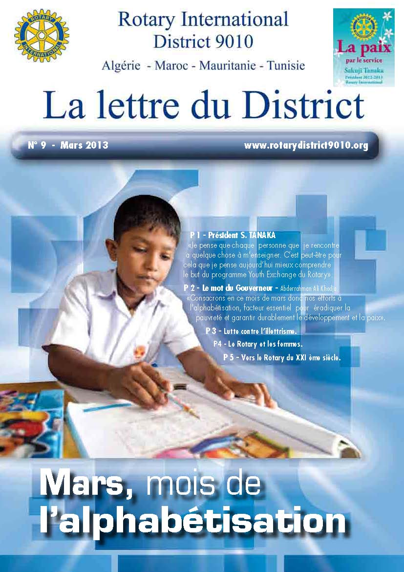Lettre du District